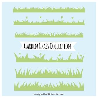 Jardin herbe ensemble