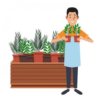Jardin et jardiniers
