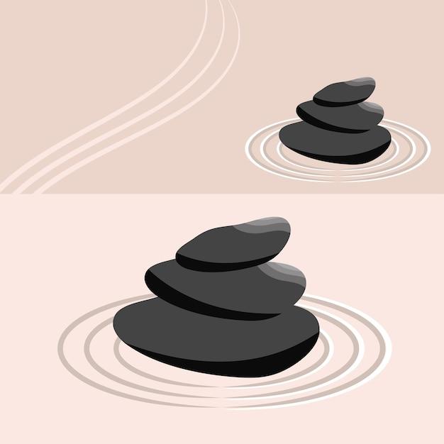 Jardin zen équilibre et harmonie