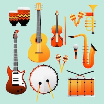 Jazz day instruments de musique