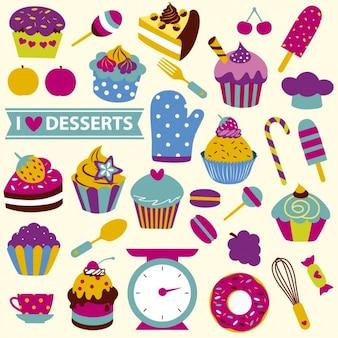 Je adore les desserts