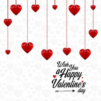 Je vous souhaite une joyeuse saint-valentin