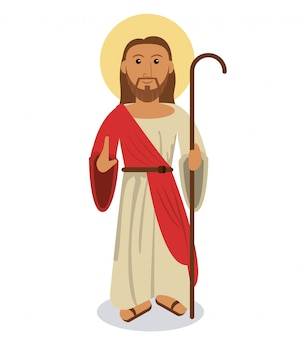 Jésus christ symbole religieux