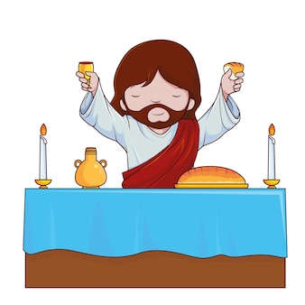 Jésus raisin