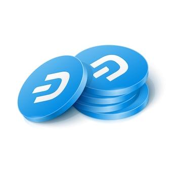Jetons de crypto-monnaie dash
