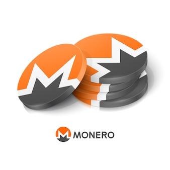 Jetons de crypto-monnaie monero