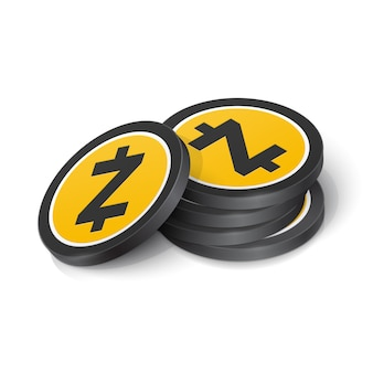 Jetons de crypto-monnaie zcash