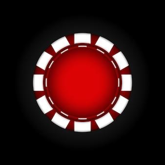 Des jetons pour le casino. jeux d'argent. illustration vectorielle. eps10