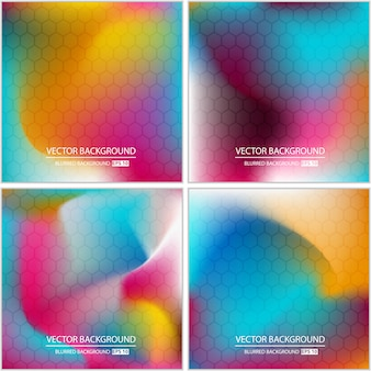 Jeu abstrait abstrait multicolore minimal.