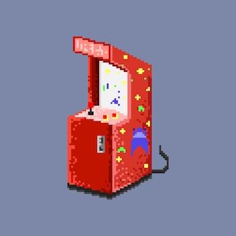 Jeu d'arcade pixel red