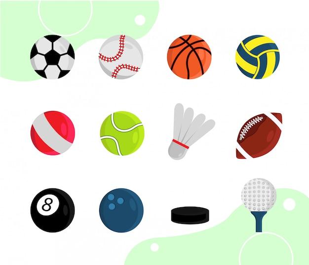 Jeu de balle de sport