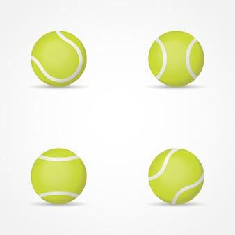 Jeu de balles de tennis.