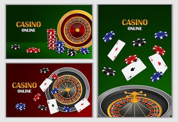 Jeu de bannière de jeu de roue de roulette