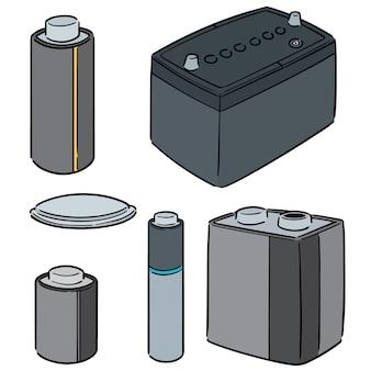 Jeu de batterie vectorielles