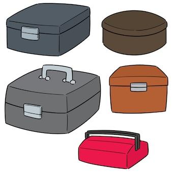 Jeu de boîte à outils vectorielles