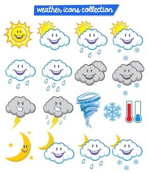 Jeu de caractères météo