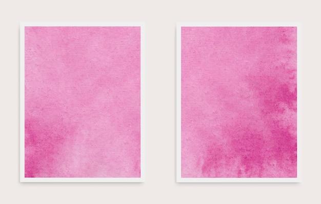 Jeu de cartes aquarelle abstraite