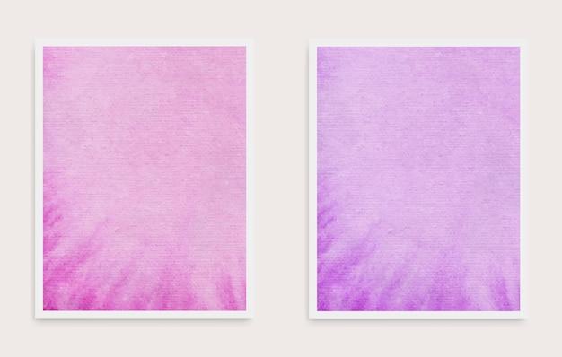 Jeu de cartes aquarelle