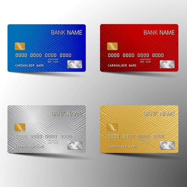 Jeu de cartes de crédit