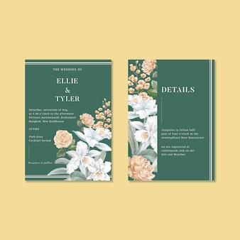 Jeu de cartes de désherbage floral