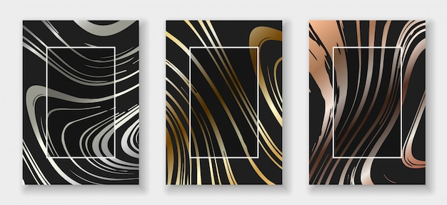 Jeu de cartes de formes abstraites