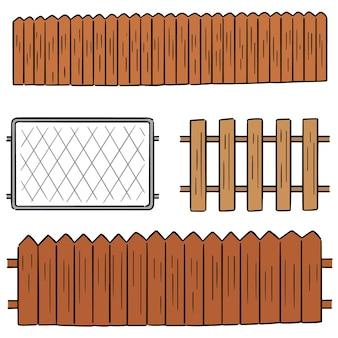 Jeu de clôture de vecteur