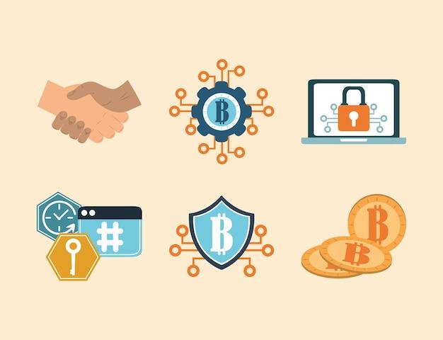 Jeu de crypto-monnaie bitcoin