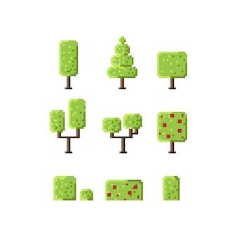 Jeu de cubes de pixel