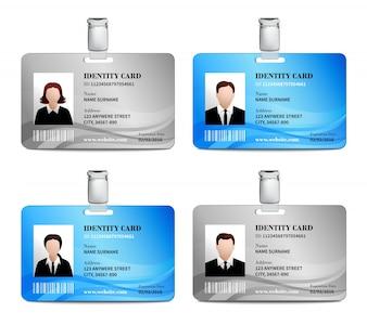 Jeu de cartes d'identité