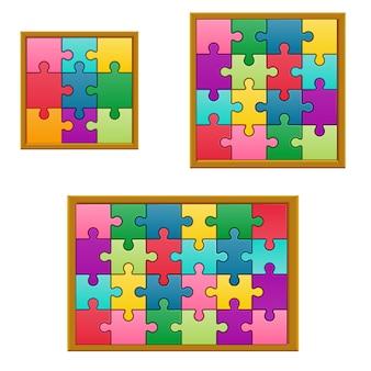 Jeu de puzzle jeu de collection