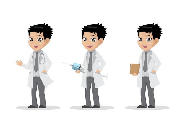 Jeu de dessin animé du docteur
