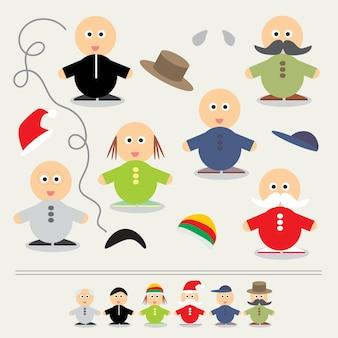 Jeu éducatif pour les enfants - illustration vectorielle couleur