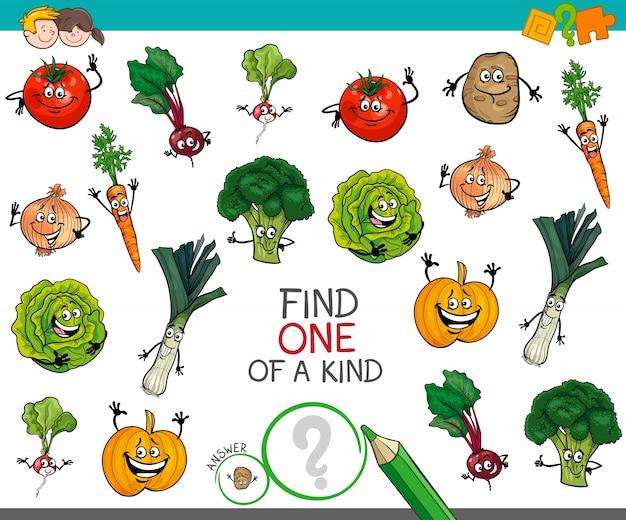 Un jeu d'un genre avec des caractères végétaux