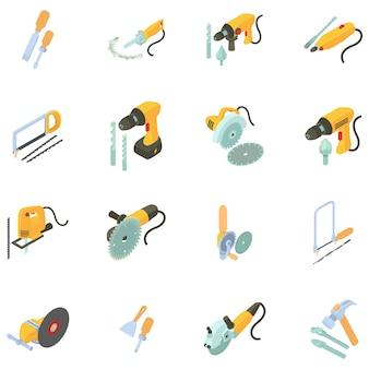 Jeu d'icônes de la boîte à outils