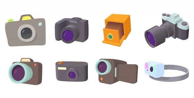 Jeu d'icônes de caméra