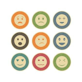 Jeu d'icônes d'emoji