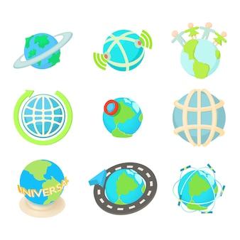 Jeu d'icônes global