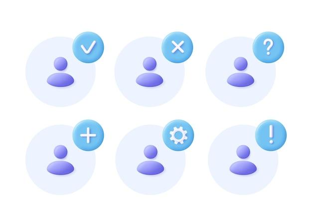 Jeu d'icônes de groupe de réseau icône de communication de l'équipe d'affaires de la communauté sociale
