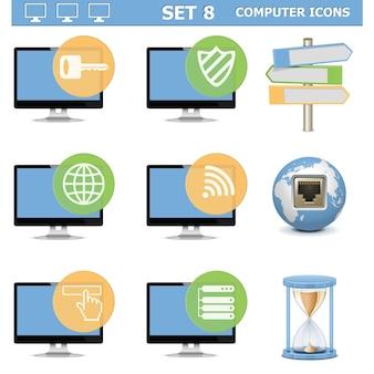 Jeu d'icônes d'ordinateur 7