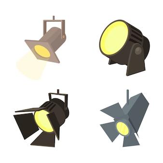 Jeu d'icônes spotlight