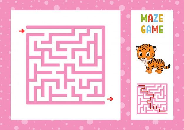 Jeu de labyrinthe drôle