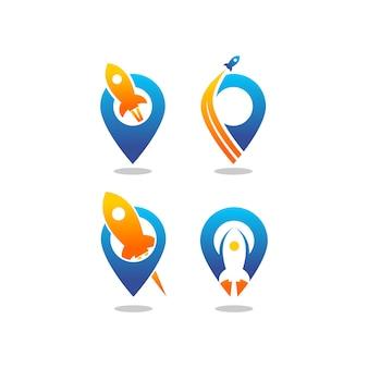 Jeu de logo de lancement