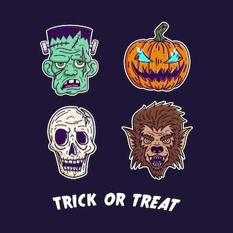 Jeu de monstre halloween