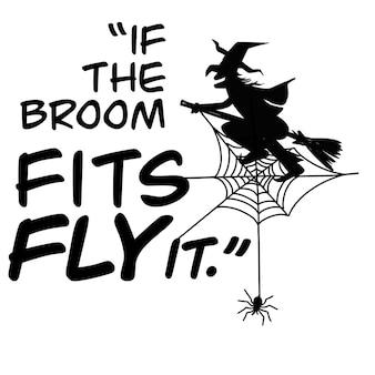 Jeu de mots d'halloween à la main, illustration, griffonnages mignons dessinés à la main, chacun sur un calque séparé.