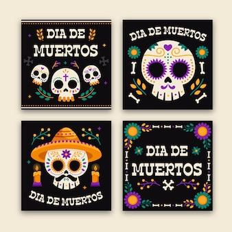 Jeu de posts instagram day of the dead