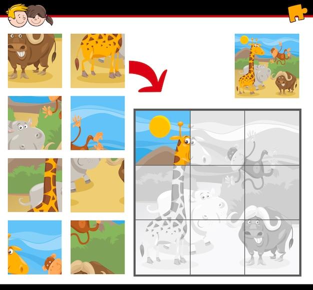Jeu de puzzle éducatif pour enfants
