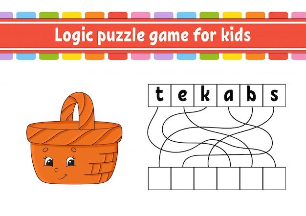 Jeu de puzzle logique.