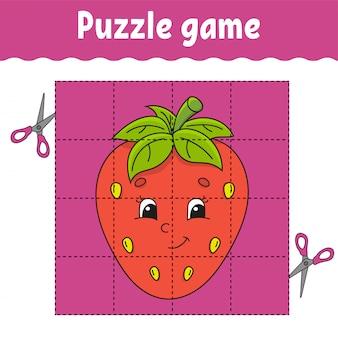 Jeu de puzzle pour les enfants.