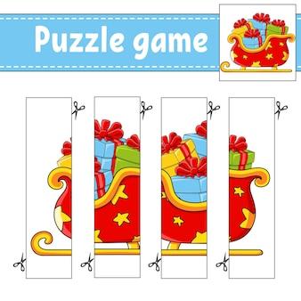 Jeu de puzzle pour l'illustration des enfants