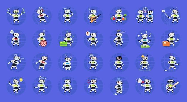 Jeu de robots mignons